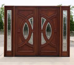 front double doors. CL 23399 Exterior Mahogany Double Doors In Antique Cherry Finish House Front Door Design /