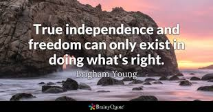 Quotes About Being Independent