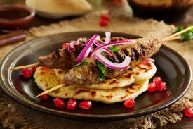 Image result for Kebabs and Dolmasi