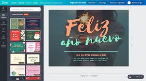 Programas Para Hacer Flyers Gratis Crea Tarjetas De Año Nuevo Online Gratis Canva