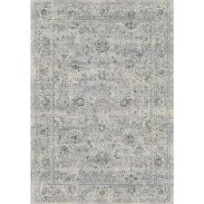 ancient garden silver grey 4 ft x 6 ft indoor area rug
