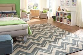 perfect blue chevron area rug