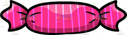 pink candy clipart.  Candy A Pink Candy Cartoon Clipart On O