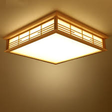 Soffitto In Legno Illuminazione : Acquista allu ingrosso lanterne di legno giapponesi da