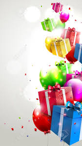 Gifts Background Free Download Modern Birthday Background With Colorful