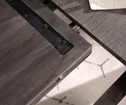 Esszimmertisch Indra Akazie Platin 140240x90 Cm Massivholz