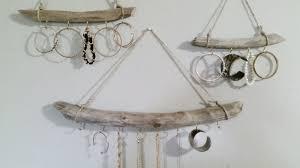 Jewelry Holder Wall Driftwood Jewelry Organizer Different Sizes Hanging Jewelry
