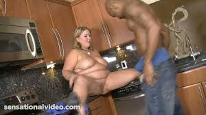 Mature granny fat interracial
