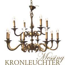 Kronleuchter Imposanter Messing Luster 12 Flammig Ca 85cm Durchmesser Leuchter Ebay
