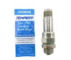 Tempest Spark Plug Chart Tempest Urem38e Massive Electrode Aircraft Engine Spark Plug