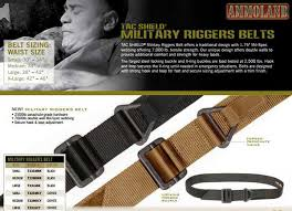 Riggers Belt Size Chart Tac Shield Proudly Introduces The Military Riggers Belt