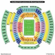 Everbank Field Concert Seating Chart 43 Best Everbank Field Images Everbank Field Jaguars