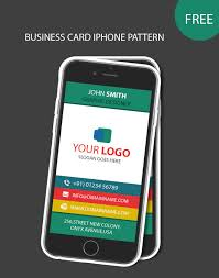 98 Iphone Style Business Card Business Card Templates Creative