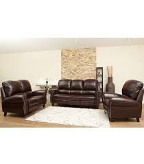 cambridge 3 piece leather set