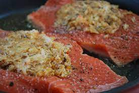 There are so many reasons to love costco. Copycat Costco Seafood Stuffed Salmon Cooking Salmon Costco Stuffed Salmon Recipe Salmon Recipes
