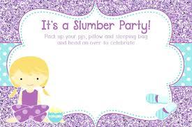 free sleepover invitation templates sleepover invitation template pajama party invitation template free