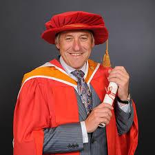 Tony Wray - Honorary Graduate - Staffordshire University