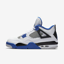 jordan 4 retro. item 3 nike air jordan 4 retro [308497-117] basketball motosports white/royal-black -nike white/royal-