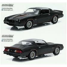在庫 グリーンライト118 シボレー カマロ Z 28 T Top 1978 ブラックオレンジストライプブラックインテ