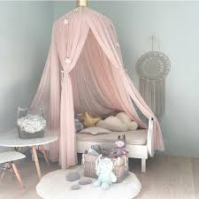 Hanging Kid Bedding Round Dome Bed Canopy Bedcover Mosquito Net Curtain  Home Bed Crib Tent Hung