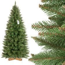 Künstlicher Weihnachtsbaum Slim Fichte Natur Jumbo Shop