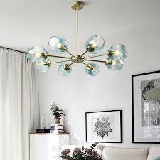 details about kitchen pendant light glass lamp gold chandelier lighting large ceiling lights