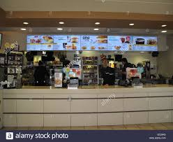 mcdonalds inside counter. Beautiful Inside The Interior Order Counter At A McDonaldu0027s Restaurant Showing The Breakfast  Menu  Stock Image And Mcdonalds Inside Counter