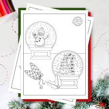 Check out our 10 amazing christmas ornament coloring pages printable for your kids here Free Christmas Printables Christmas Ornaments Coloring Pages