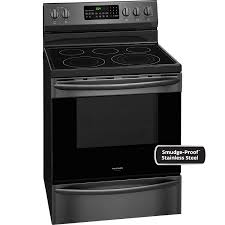 stove frigidaire. frigidaire gallery 30 inch freestanding electric range black stainless cgef3059td stove p