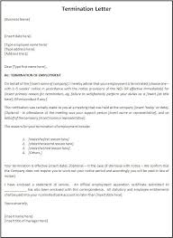 Employment Separation Certificate Form Delectable Termination Letter