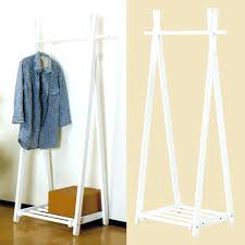 hanger storage rack clothing garment racks coat wood tree clothes cute slim interior diy