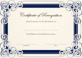 Certificate Of Excellence Template Word certificate of achievement templates free Mayotteoccasionsco 44