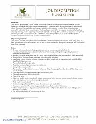 Housekeeping Supervisor Resume Resume Template
