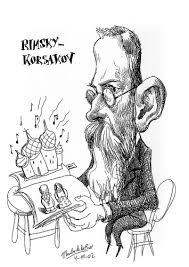 Resultado de imagen de Rimnski korsakov caricatura