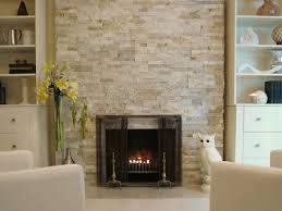 Fireplace idea-Stone fireplace surround