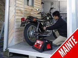 バイク ガレージ
