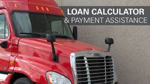Owner Operator Loan Calculator And Payment Assistance Program
