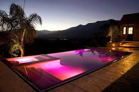 Swimming pool lighting design Blue Pool Architecture Art Designs 15 Attractive Swimming Pool Lighting Ideas