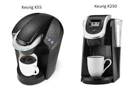 Keurig Model Comparison Chart Keurig K55 Elite Vs Keurig K250 Keurig Comparison Chart