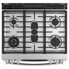 double oven gas range. Ft. Slide-in Double Oven Gas Range With Lower Convection And WiFi Connect