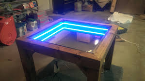 infinity table. his wife needed a new table. what he built her was the last thing she ever expected infinity table e