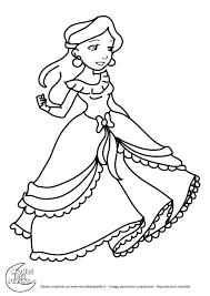 Monde Des Petits Coloriages Imprimer Coloriage De La Petite Princesse A Imprimerl L