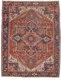 9 x 12 antique persian heriz rug 12105