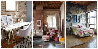 brick wall decoration ideas delectable exposed brick walls in the industrial kitchen