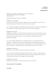 Cover Letter Template Gradtouch