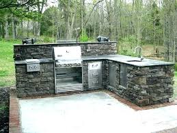 big green egg outdoor kitchen pictures ideas with built into