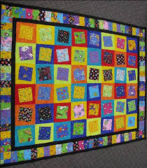 Best 25+ Boys quilt patterns ideas on Pinterest | Boy quilts, Baby ... & I like the off-set squares - Eye Spy patchwork Quilt kit Adamdwight.com