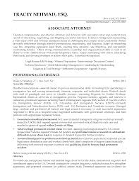 Formal Associate Attorney Resume Sample And Featuring Professional