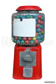 Candy Labels For Vending Machines Magnificent Candy Dispenser Gum Ball Machine Vending Machine With White Empty