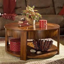maxim round lift top tail table hammary decor 123